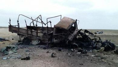 صورة كمين لتنظيم داعش يوقع قتلى وجرحى من النظام ببادية ديرالزور