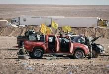 صورة بعد مقتل 19 عنصراً.. الميليشيات الإيرانية ترفع أعلام نظام الأسد وتُغيّر مواقعها شرق ديرالزور