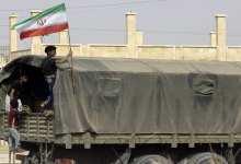 صورة مصادر لـ  الشرقية24: 4 ناقلات إيرانية محملة بعربات عسكرية وعتاد تتجه نحو الأراضي العراقية من معبر القائم الحدودي مع البوكمال.