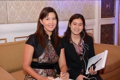 Pia Cayetano with Ailen Lim
