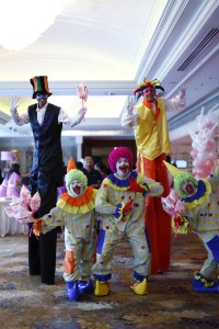 circus clowns | kiddie party