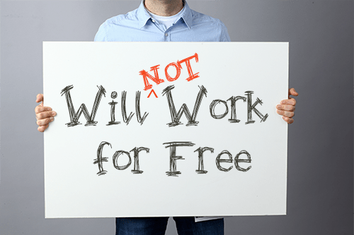 How to make someone work for free