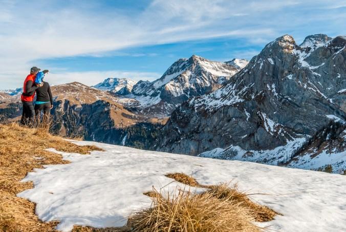 Auf der Walliser Wispile - kleiner Berg, große Aussicht!