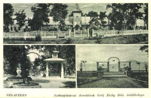 Árvaház-Szabadtéri oltár