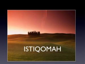 Istiqomah Jalan Hidup Muslim