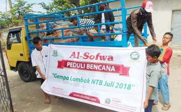 Tanggap Bencana Lombok Yayasan Al-Sofwa