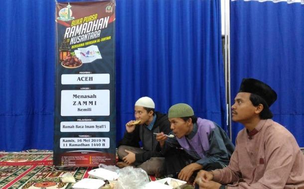 Al-Sofwa Menyelenggarakan Buka Puasa Bersama di Bebesen Takengon Aceh Tengah