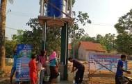 Dua sumur di Kotanapal Bunga Mayang Lampung Utara Selesai Dibangun Yayasan Al-Sofwa