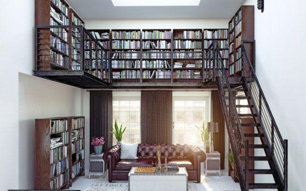 Buatlah Perpustakaan di Rumahmu