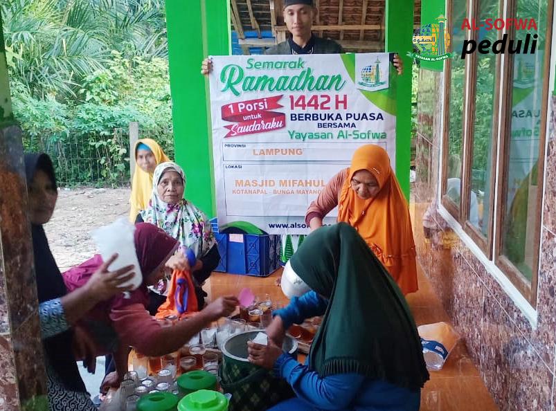 Satu Porsi Untuk Saudaraku di Kotanapal Lampung