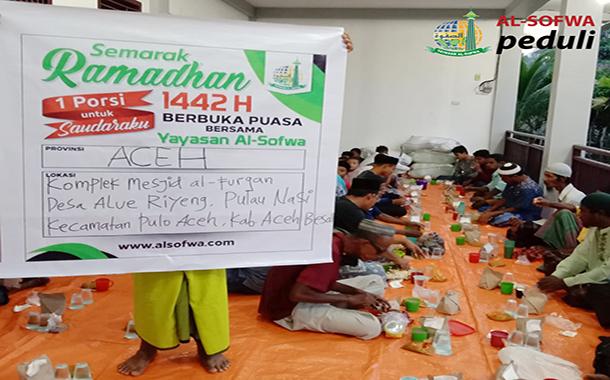Satu Porsi Untuk Saudaraku di Pulau Nasi Nanggroe Aceh  Darussalam