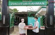72 Paket kurma Disalurkan ke  Masjid-Masjid di Jadebotabek
