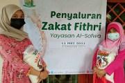 Al-Sofwa Peduli Salurkan Zakat Fithri 2.382 Kg Beras di Jabodetabek