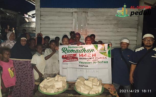 Satu Porsi Untuk Saudaraku bersama Muslim Papua di Merauke