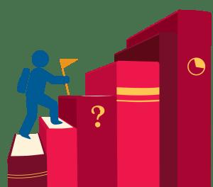 book climb illustration