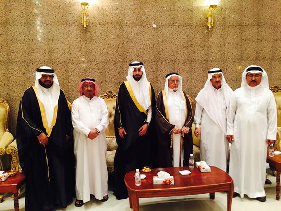 آل سلطان يحتفلون بزواج محمد