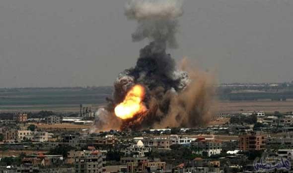 العدوان الإسرائيلي يجدد قصف قطاع غزة ويصيب خمسة مواطنين