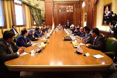 بعد إجتماع  مع الحكومة والمستشارين .الرئيس اليمني يصدر توجيهات عاجلة .ماهي؟
