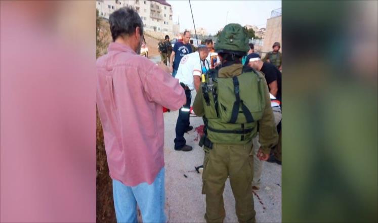 إصابة فلسطيني بنيران الاحتلال