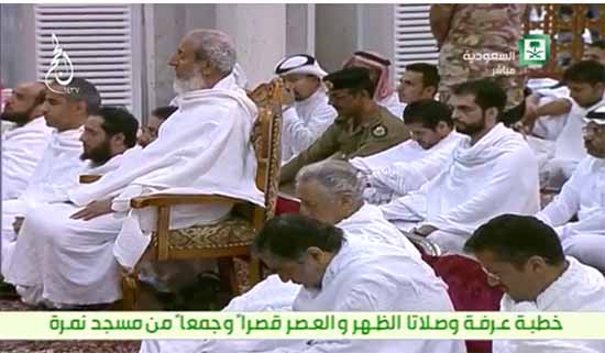 شكر المفتي على 35 عاما خطب فيها..السديس في عرفه: ابتليت أمة الإسلام ببعض أبنائها
