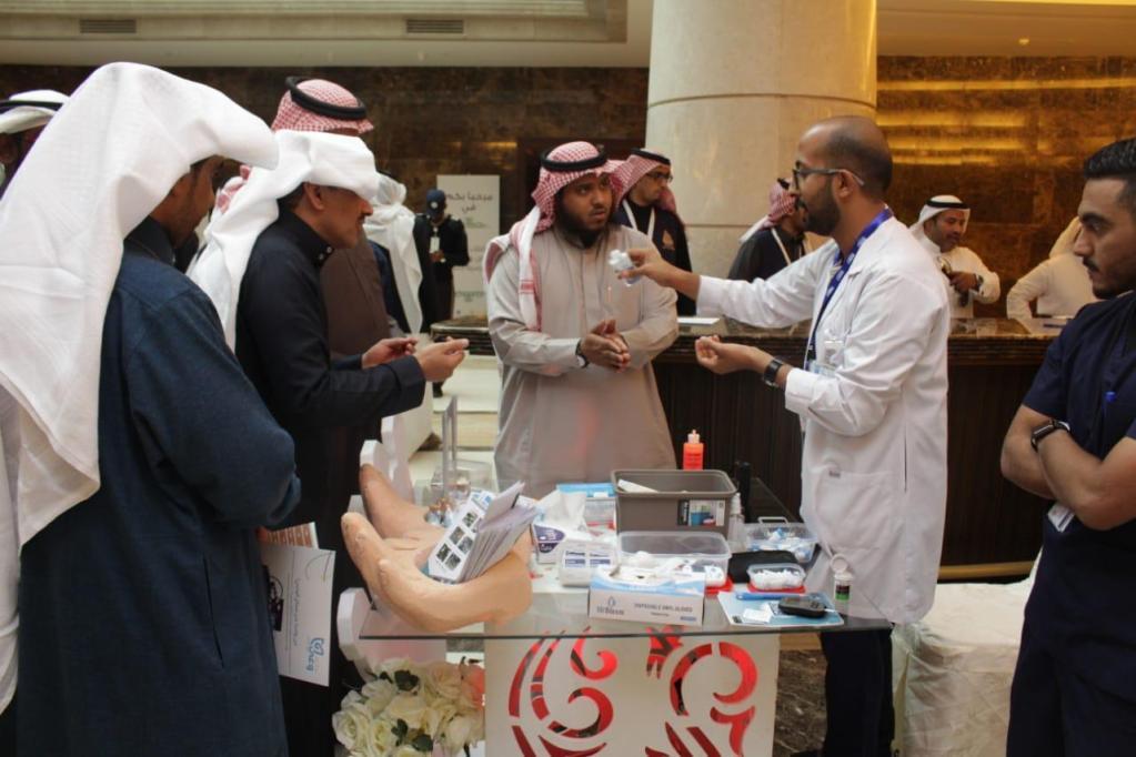 صحة الرياض تشارك في ملتقى الامن والسلامة