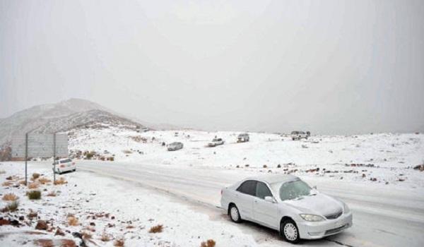 استمرار تأثير الكتلة الباردة على معظم مناطق المملكة