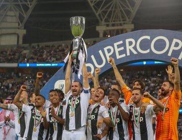يوفنتوس بطلاً للسوبر الايطالي للمرة الثامنة في تاريخه
