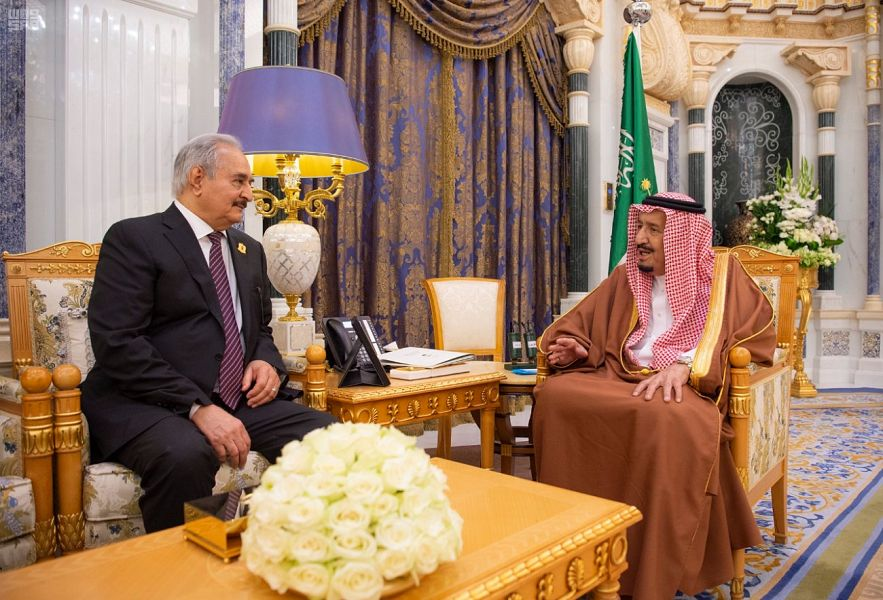 الملك سلمان مخاطبا قائد الجيش الليبي: السعودية حريصة على أمن واستقرار بلادكم