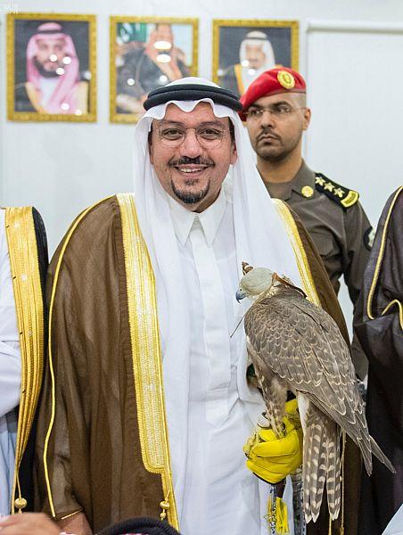 الأمير فيصل بن مشعل يؤكد على أهمية مهرجان القصيم للصقور
