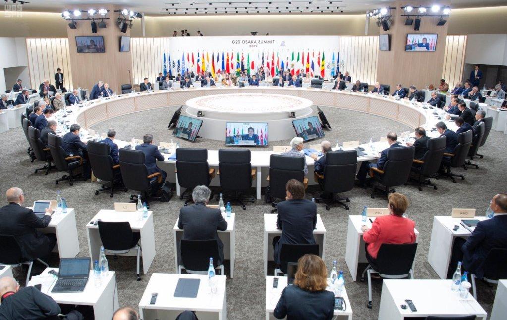 محمد بن سلمان من قمة العشرين:المملكة تشدد على أهمية تعزيزِ أمن الطاقة وتشجب جميع الممارسات الإرهابية