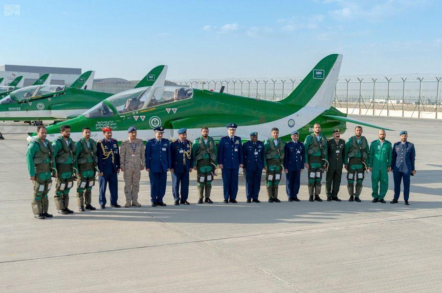 الصقور السعودية يشارك في الاستعراضات الجوية في دبي