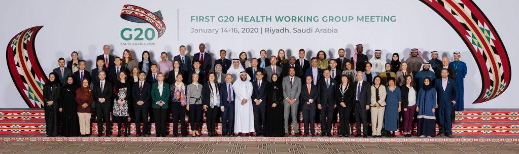 مجموعة عمل الصحة لـ G20 تعقد اجتماعها الأول لمناقشة التحديات