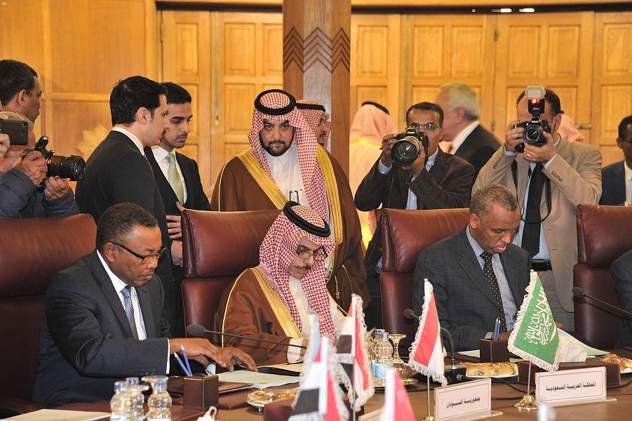 بدء اجتماع اعمال مجلس الجامعة العربية الطارئ لبحث خطة ترامب