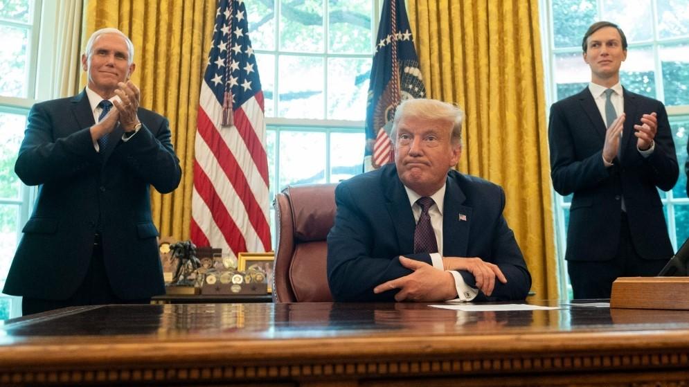 ترامب يعلن التوصل لاتفاق سلام بين البحرين وإسرائيل