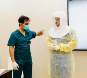 مركز خدمات طب الأسنان بالرياض يقيم الدورة الأساسية لمكافحة العدوى للحصول على رخصة بيكسل (BICSL)