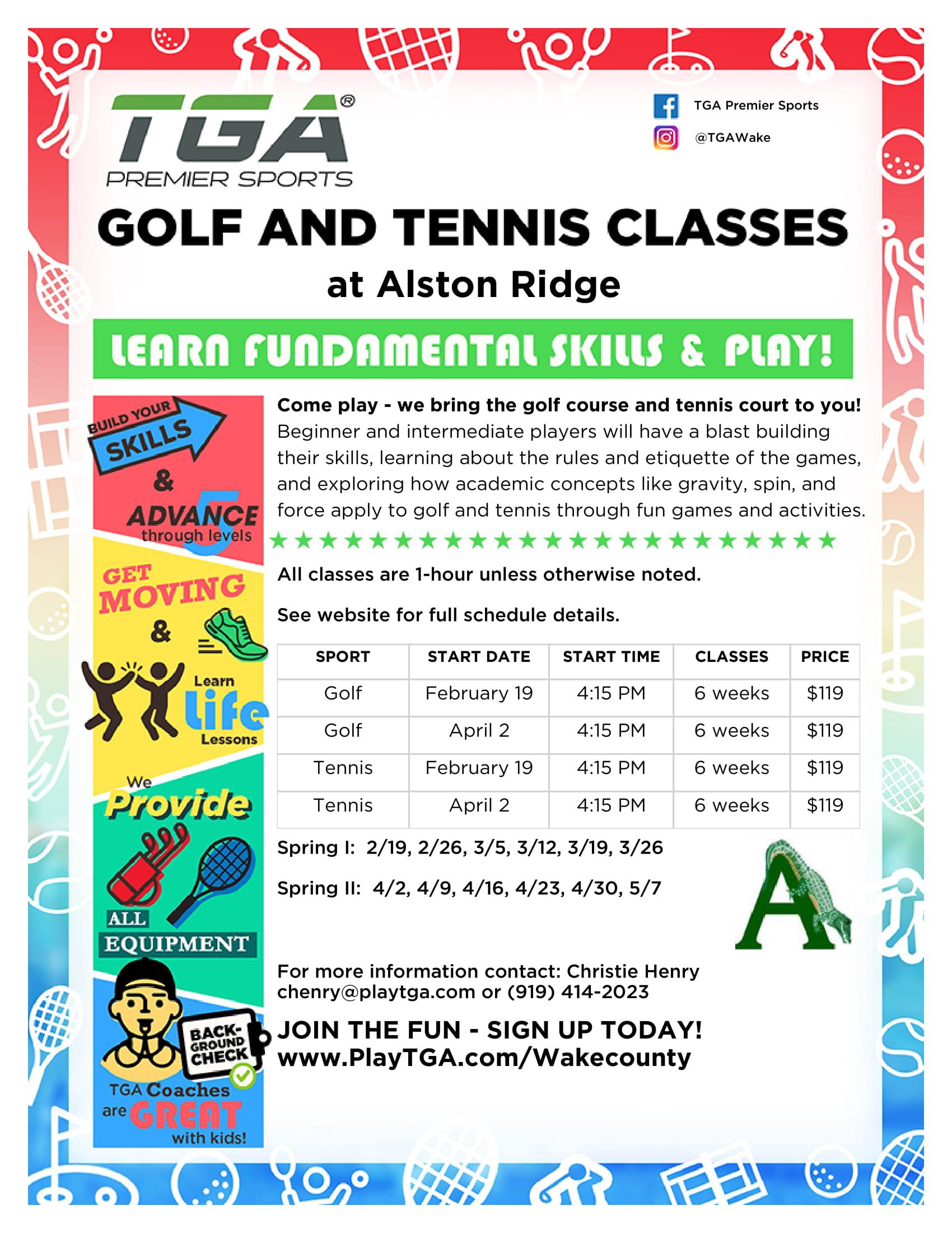 Alston Ridge Elementary Spring 2019 flyer 11-30-18-1