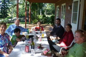 Niven Family Group celebrates Mothers Day in 2012