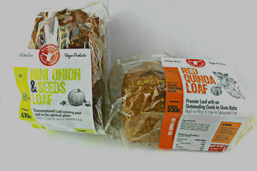 Incredible Bakery gluten and dairy free bread