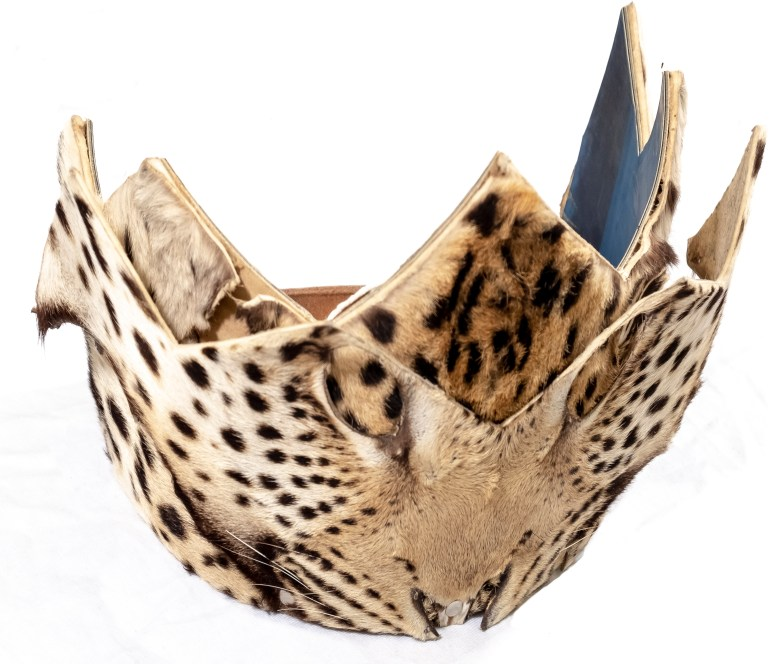 Zone 2 - Ceremonial Leopard-skin Headdress (2)