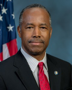 Ben Carson official portrait as HUD Secretary