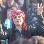 Eine junge Kurdin
