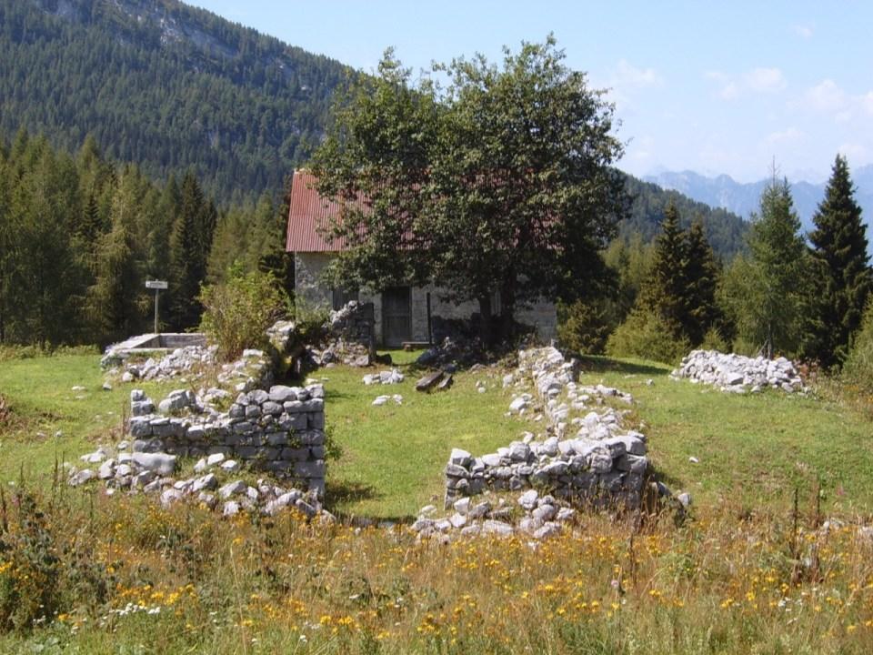 Bivacco nahe Forcella Clautana