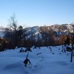 Berge zwischen Kühzagl-Alm und Schliersee