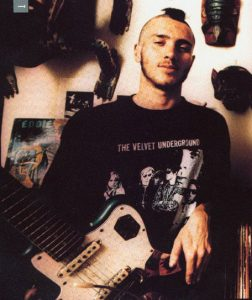 John Frusciante with a mohawk