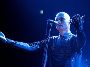 Billy Corgan, lead singer of the Smashing Pumpkins