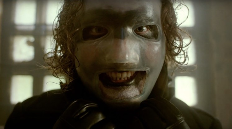 Corey Taylor (Slipknot) and his new mask