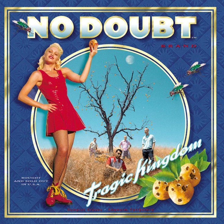 No DOubt - Tragic Kingdom - pop punk, ska, punk rock 1990s