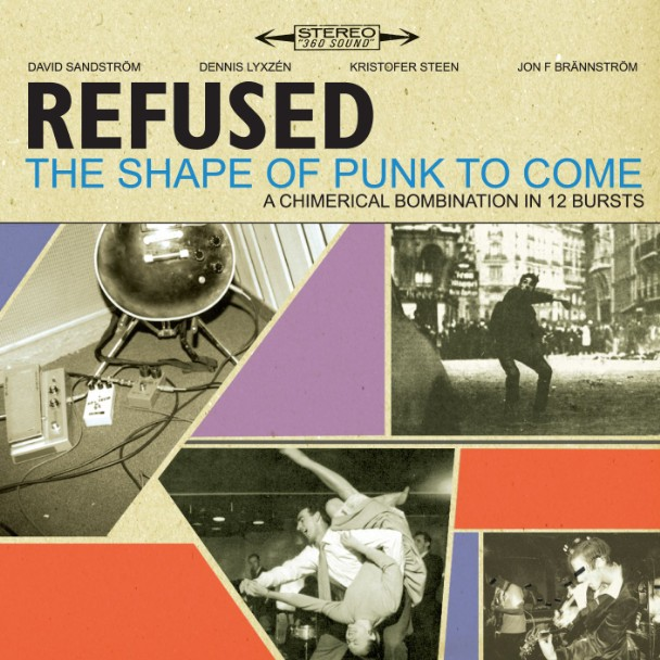5 most critically acclaimed punk rock bands of the 90s- punk rock the refused, shape of punk to come