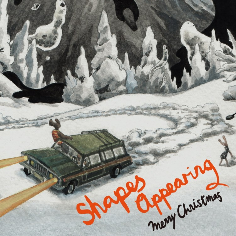 Merry Christmas shapes Appearing Math Rock, Indie Pop, Bedroom / Lo-fi Pop