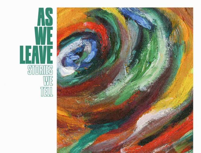As We Leave - Stories We Tell modern shoegaze psychedelic review new music 2020